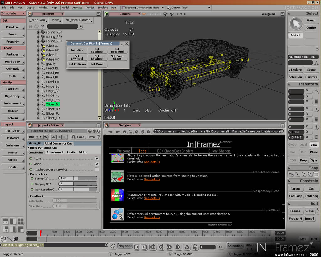 Capture 6 of 3D racing games devlopment tech