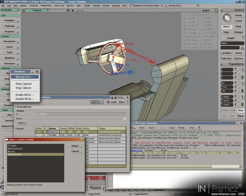 Capture 7 of 3D racing games devlopment tech