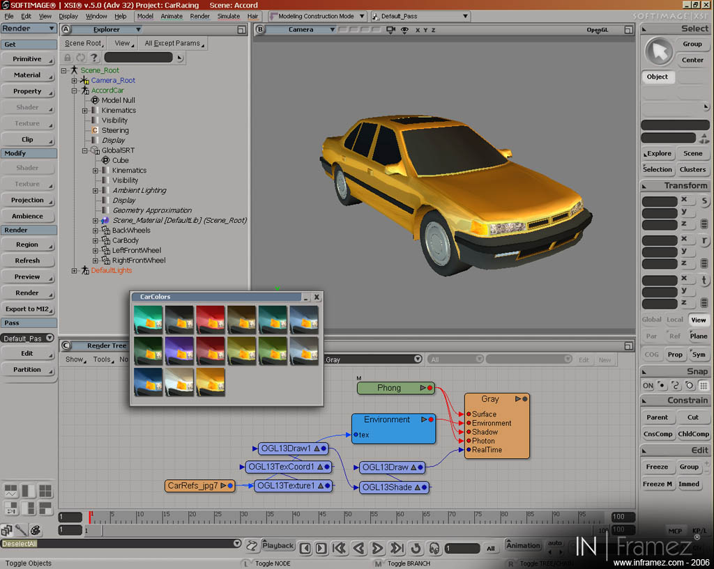 Capture 8 of 3D racing games devlopment tech