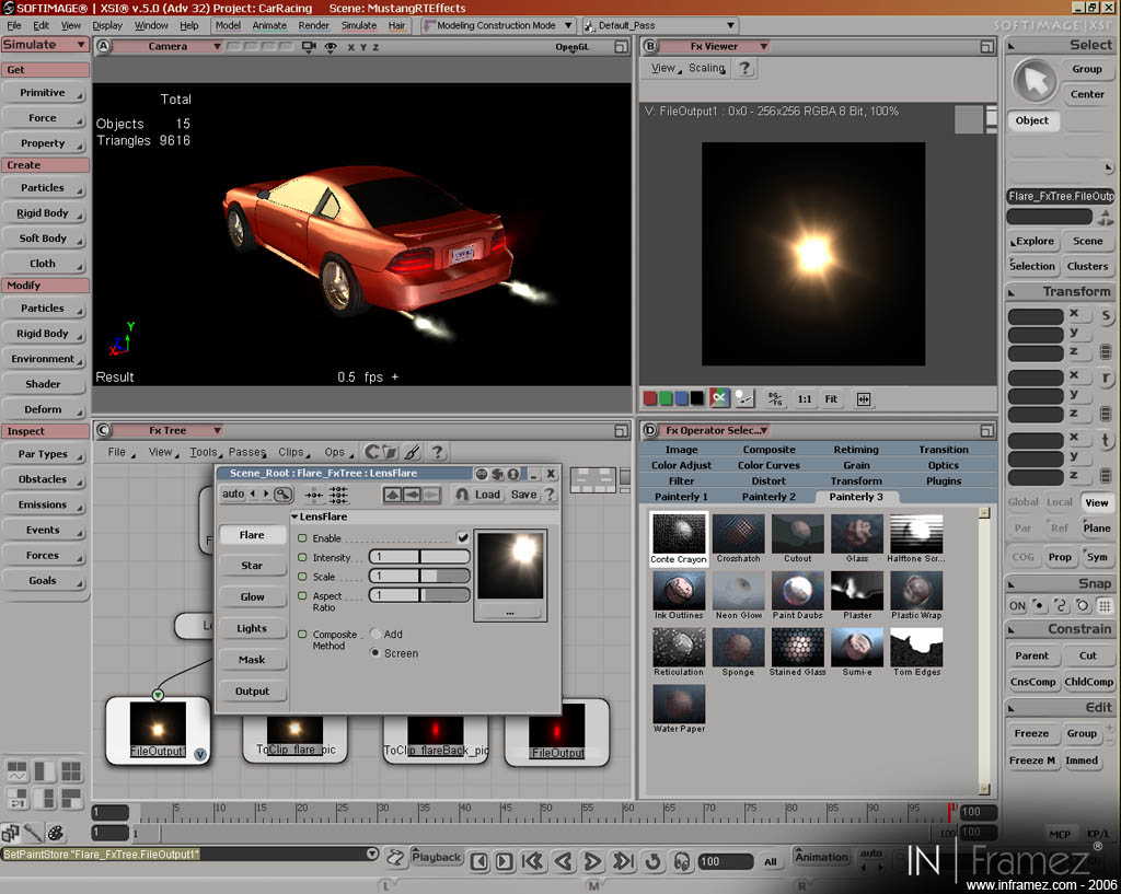 Capture 9 of 3D racing games devlopment tech